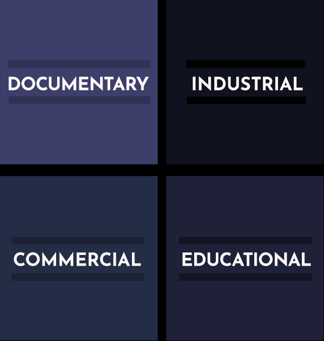 production insurance for documentary, industrial, commercial, educational